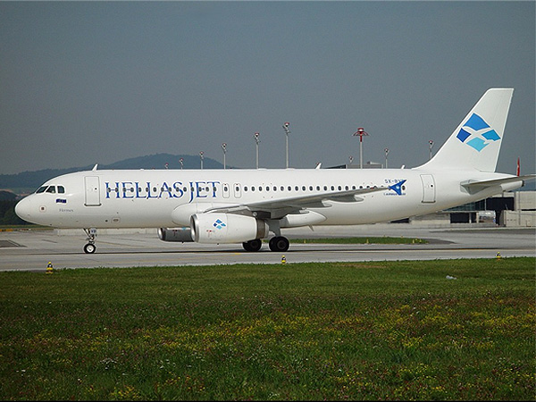 Airline Hellas Jet (Hellas Jet). Official sayt.2